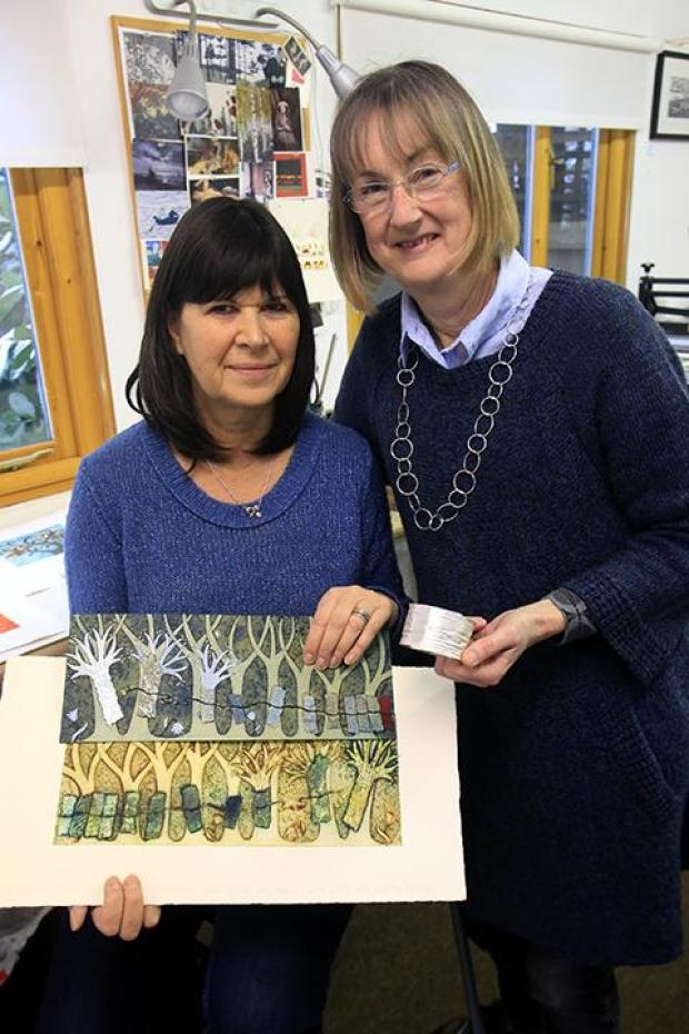 Harrow Open Studio artists Ann Burnham and Jane Pomiankowski have been selected to exhibit at the V & A