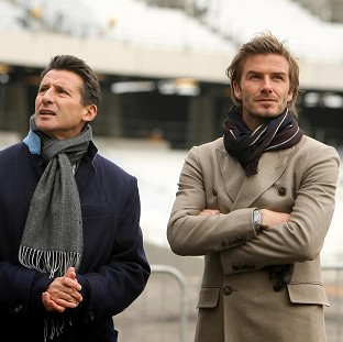 David Beckham, right, played a key role in securing the Olympic Games for London