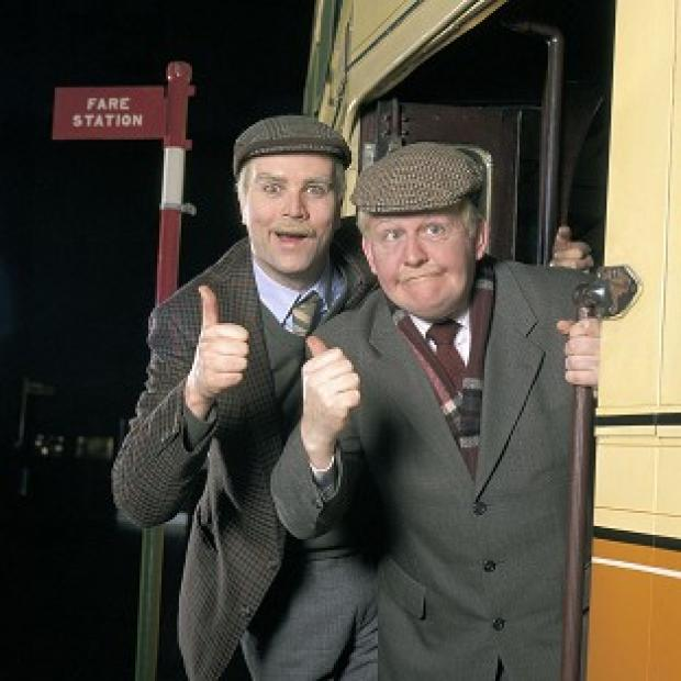 Ealing Times: Ford Kiernan, right, with comedy co-star Greg Hemphill in BBC Scotland's Still Game.