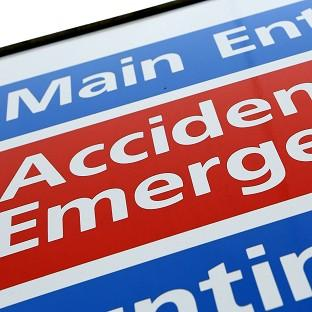 Figures indicate a fall in the number of patients seen within four hours at accident and emergency departments.
