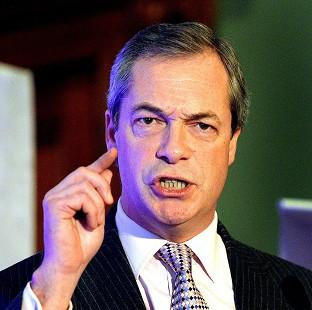 Nigel Farage said the UK does not have the money to press ahead with HS2