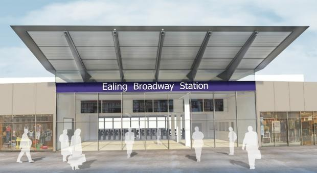 Innovative: the new design for Ealing Broadway station will be striking