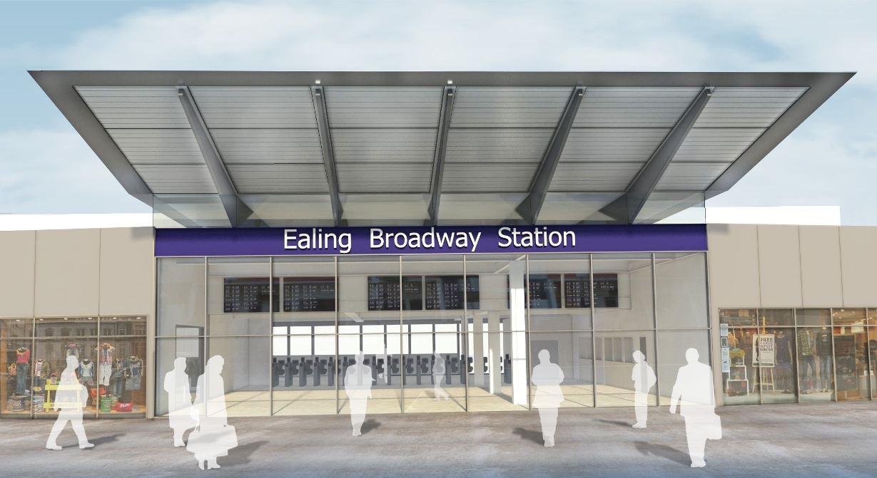 Change of mind? Ealing Broadway may take on an even more striking look