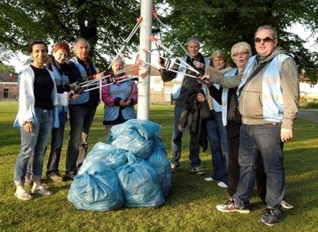 Tidy-up: there's cash available to clean up the borough