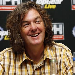 Ealing Times: Top Gear's James May is visiting troops in Afghanistan for a film about the military vehicles used by the forces