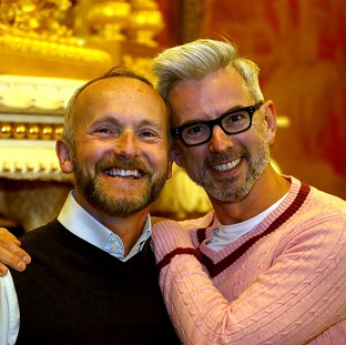 First same-sex couple to be married