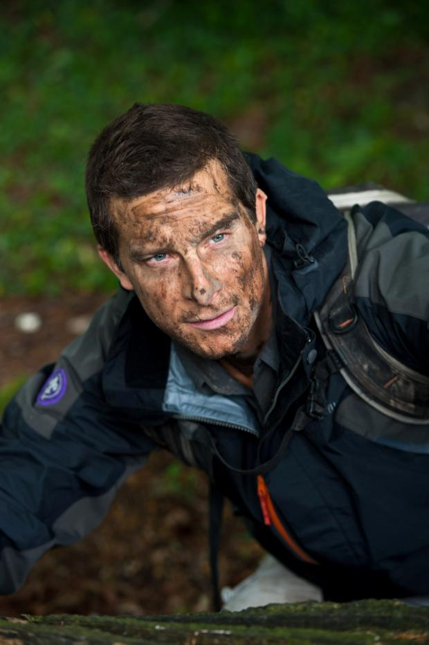 Ealing Times: TV survival specialist Bear Grylls: his courses are coming to Ealing