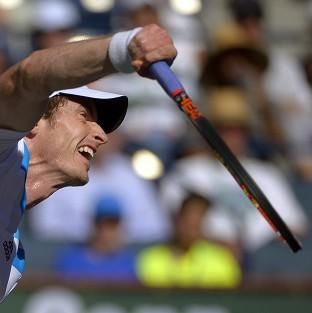 Andy Murray, playing in California, says he will not make his thoughts on Scottish independence public (AP)