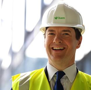 Chancellor George Osborne says Britain is going to have the most competitive export finance in Europe