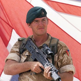 Royal Marine Sergeant Alexander Blackman is challenging his conviction