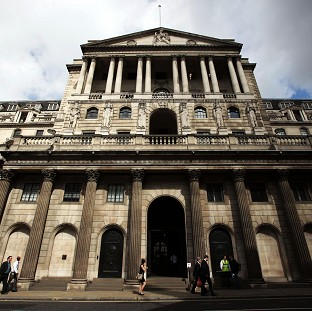 A new Bank of England report has found that business lending contracted by �500 million in the three months to February