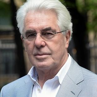 Publicist Max Clifford arrives at Southwark Crown