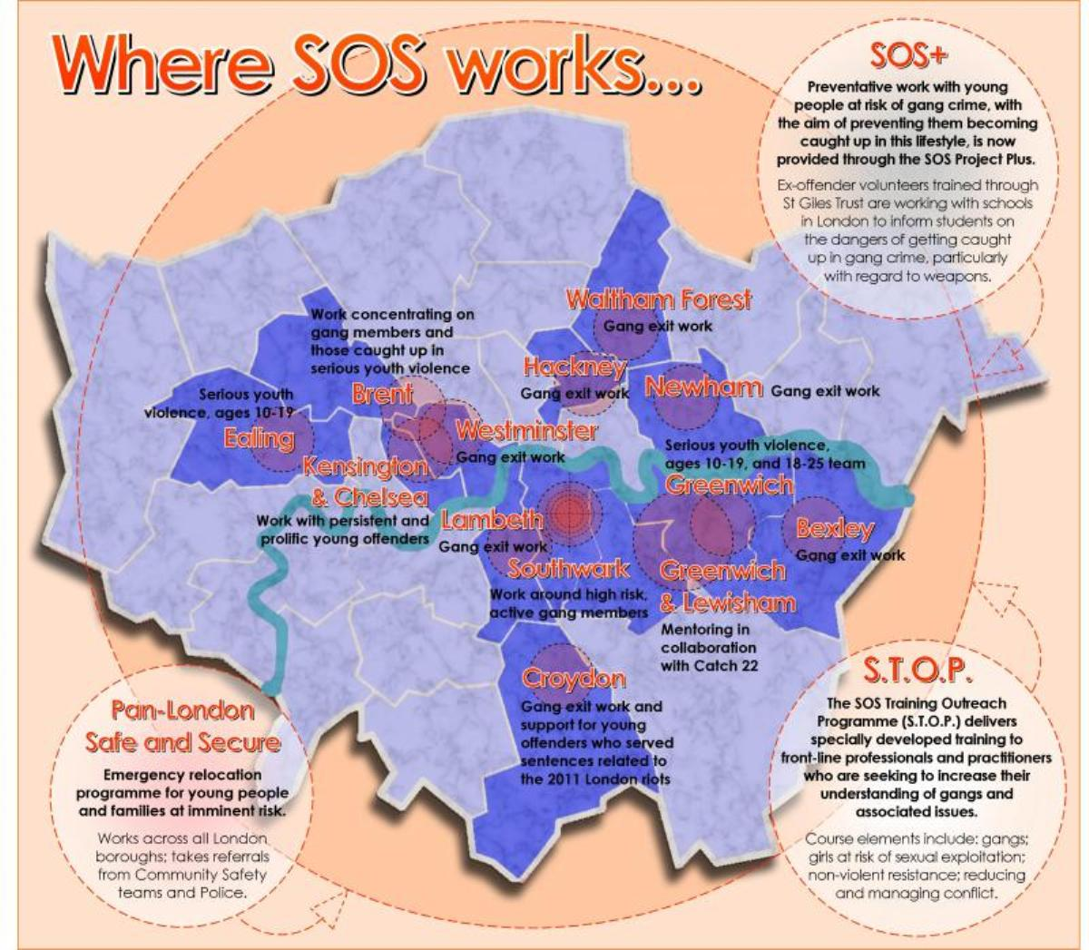 Celebrating Women: part of the work of the SOS Project around London