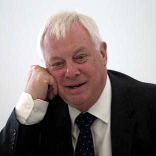 Lord Patten is standing down with immediate effect