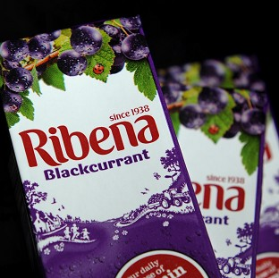 A general view of Ribena soft drink.