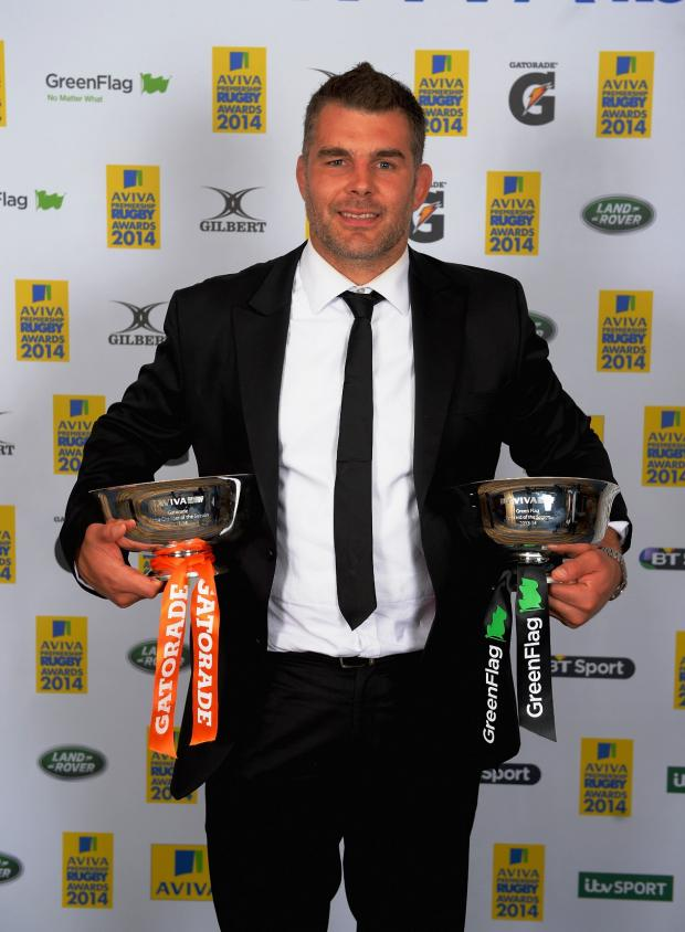 Ealing Times: Nick Easter: two trophies to treasure from this season