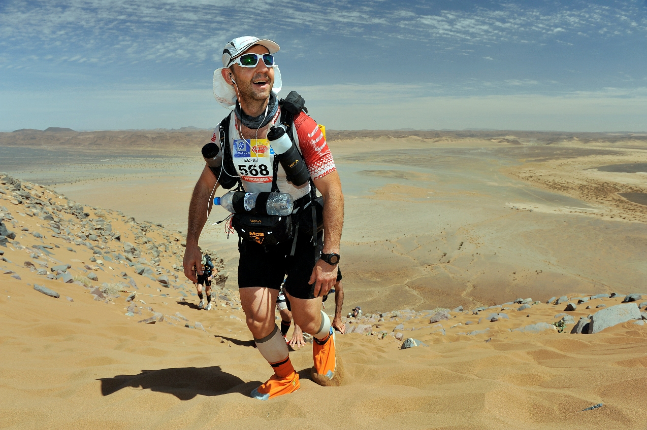 Sahara challenge: Aled Davies was six days in the desert