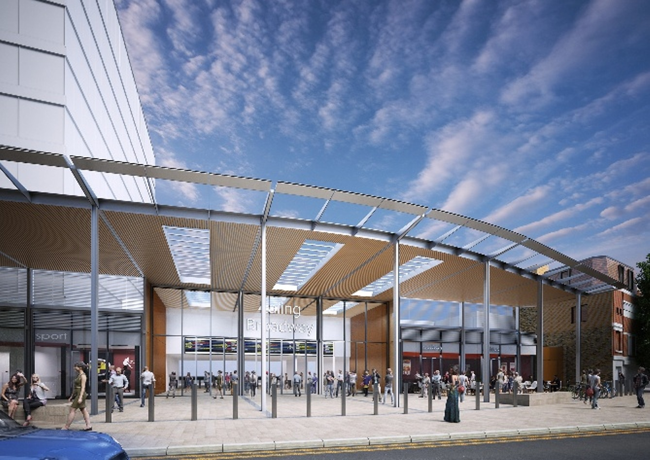 How the new station will look when it serves Crossrail