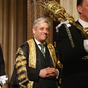 Ealing Times: John Bercow, the Speaker of the House of Commons.