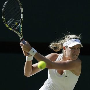 Ealing Times: Eugenie Bouchard of Canada.