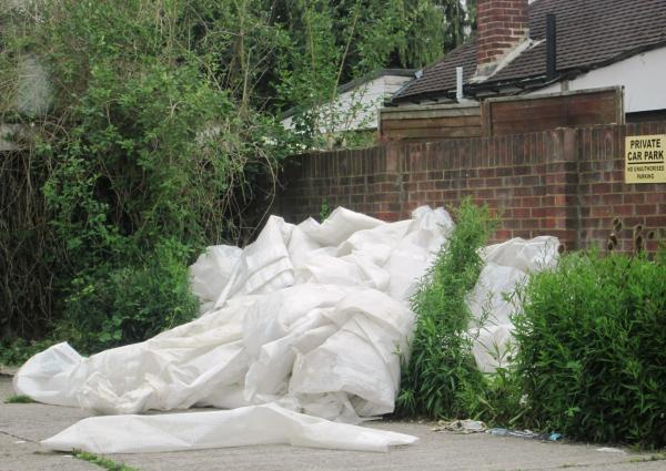 Fly-tipping remains a serious issue in Ealing borough