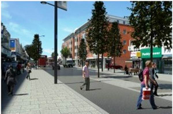 Wider pavements and traffic islands will improve safety