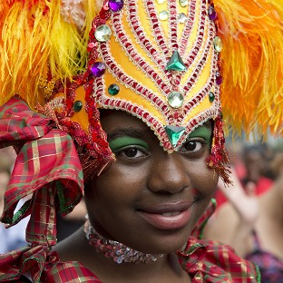 Rain fails to deter carnival goers