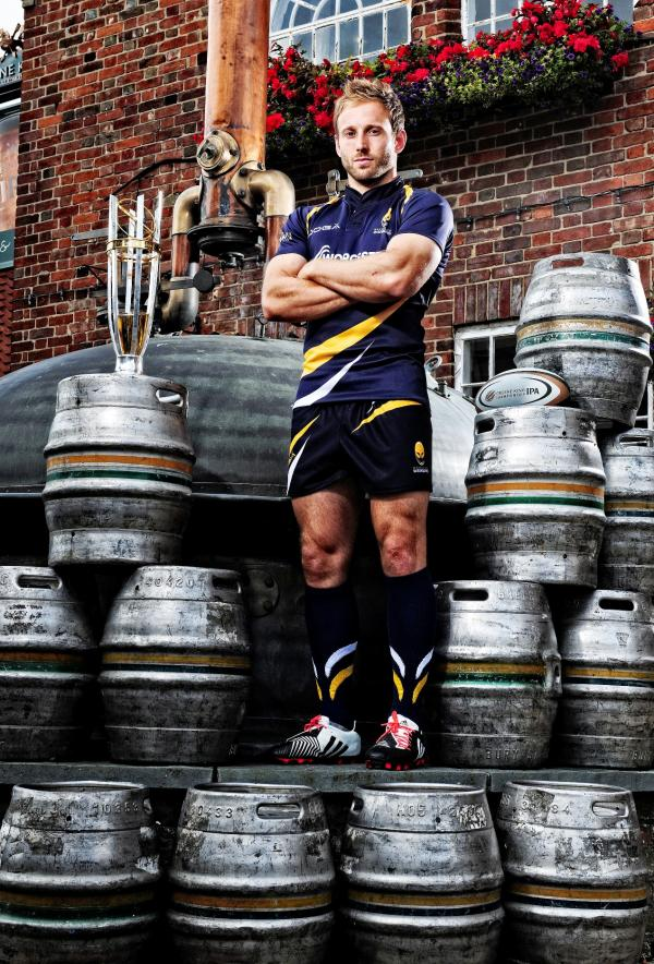 Roll out the barrel: Chris Pennell is staying with Worcester