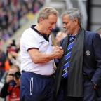 Ealing Times: Crystal Palace manager Neil Warnock, left, has been charged with misconduct following his comments after the match against Chelsea