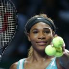 Ealing Times: Serena Williams must wait to see whether she reaches the semi-finals of the WTA Finals in Singapore (AP)