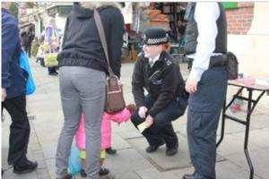 Ealing shoppers join police in action day against crime