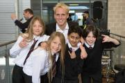 Made in Chelsea star Jamie Laing on his visit to Brentside High