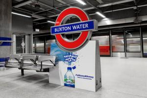For Canada Water, read BUXTON Water - for marathon day only!