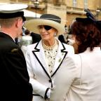 Ealing Times: Princess Michael of Kent wore a patch on her eye at the garden party