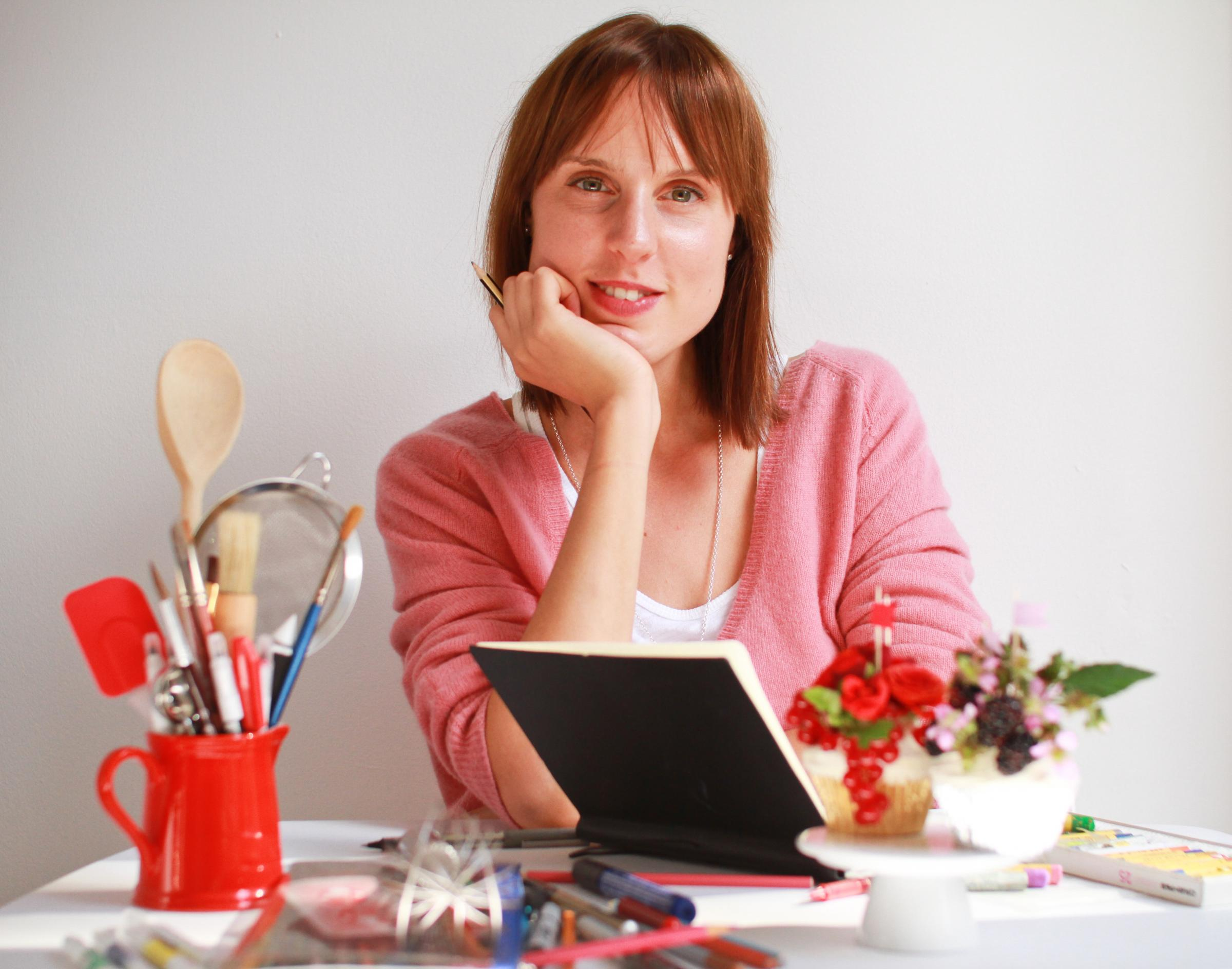 Great British Bake Off winner Frances Quinn, photo by Dave Smith
