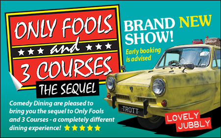 Only Fools and 3 Courses The Sequel Interactive Dinner Show Milton Keynes