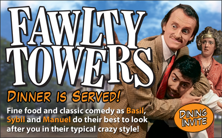Fawlty Towers Interactive Dinner Show Milton Keynes