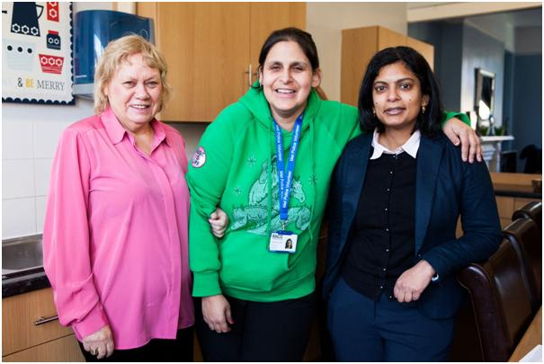 Ealing Central and Acton MP Rupa Huq visits disability charity