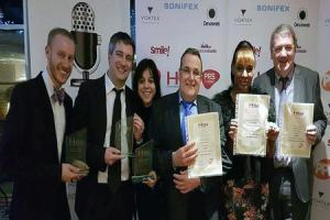 Radio Brockley was honoured at a national awards ceremony