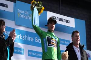 Groenewegen also won the opening stage in Settle a year ago