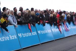 Crowds flock to Scarborough for the Tour de Yorkshire
