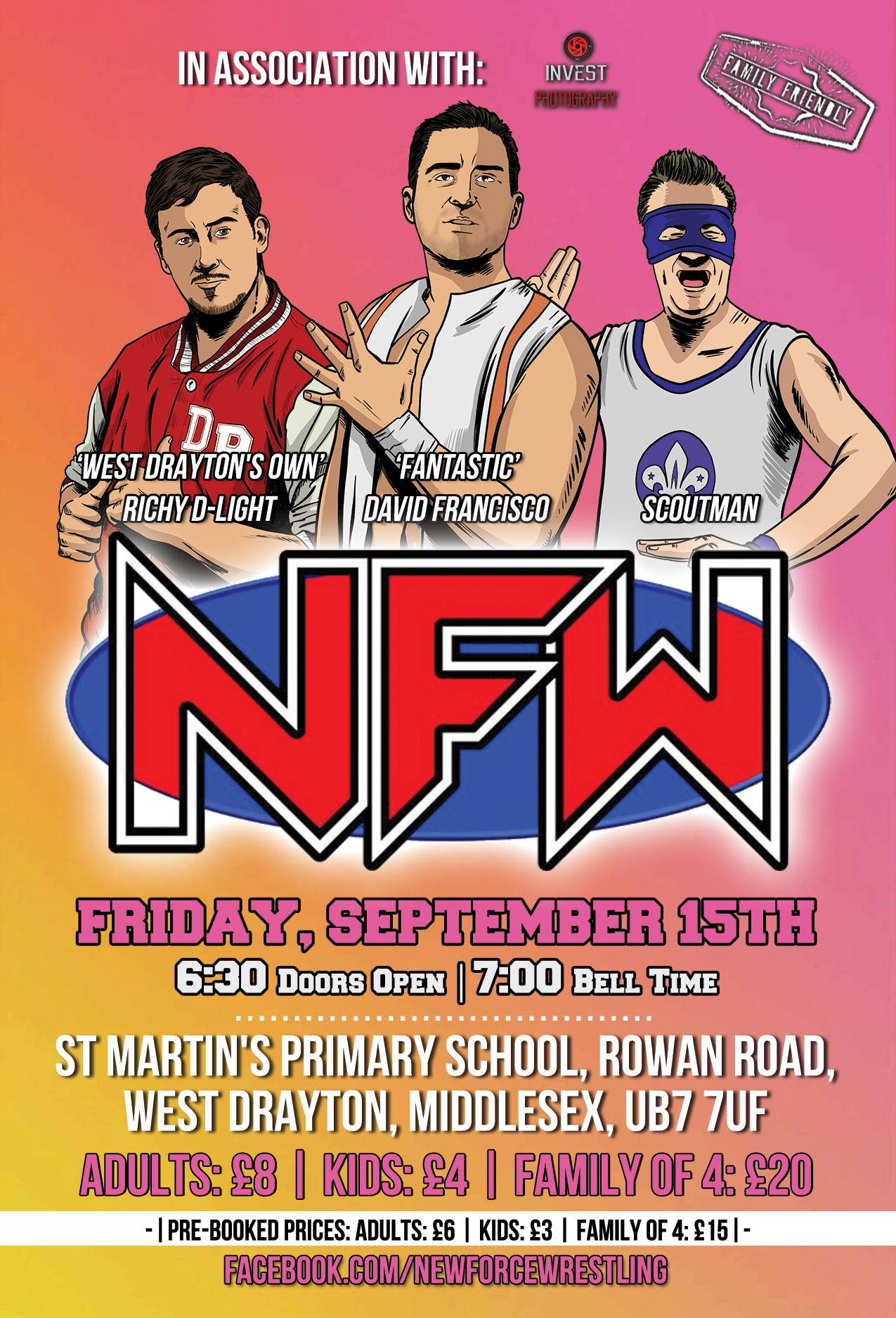 New Force Wrestling - West Drayton