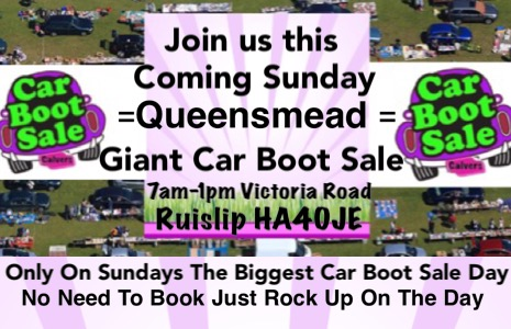 Queensmead Sunday Giant Car Boot Sale
