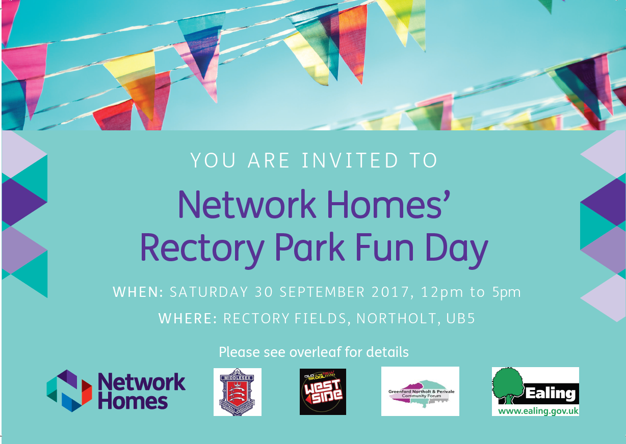 Network Homes' Rectory Park Fun Day