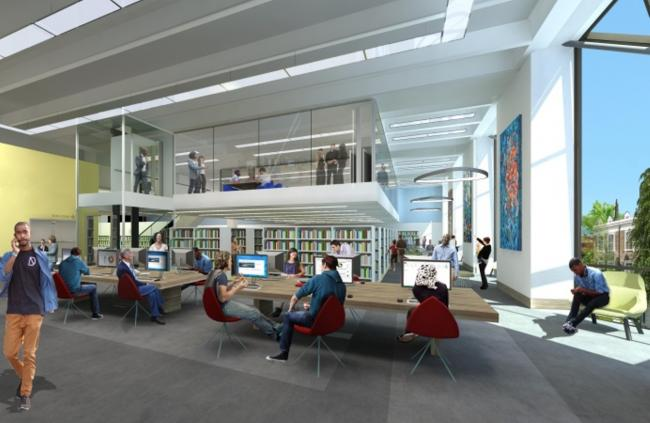 Read all about it: a new, modern space is planned for the central library