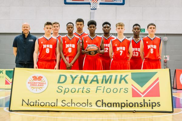 Northampton School for Boys win the national basketball title