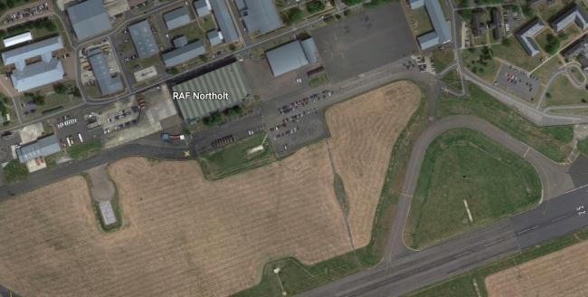 RAF Northolt. Picture Google Maps