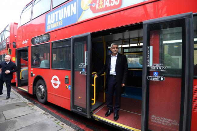 Several London bus route are disrupted after 2,000 members of the Unite union are on strike until Thursday