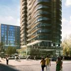 The new look of the building planned for the Arcadia centre site