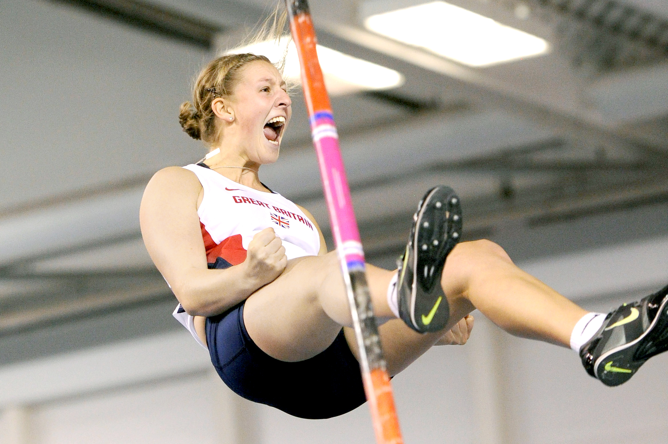 Holly Bradshaw admits she had to rediscover her love for pole vault after a few tough years